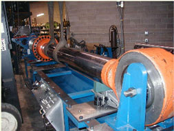 Hydramachine Inc Is Equipped With A 50,000 ft.lb. Machine To Handle All Of Your Hydraulic Cylinder Needs.